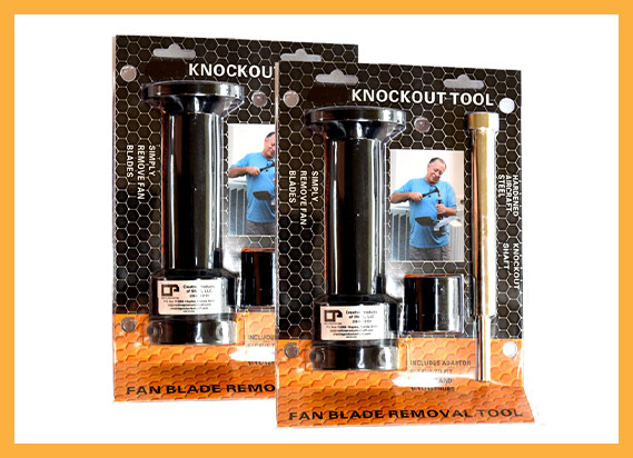 The Two Knockout Tool Bundle | Industrial HVAC Handtools - Creative Products of SWFL